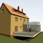 Anbau Mehrfamilienhaus Schneider